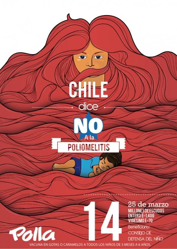 Ilustración para documental sobre el cartel social Chileno. Trabajo de reinterpretación Documental 40 años del cartel chileno.