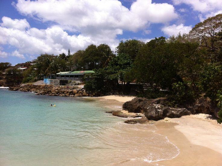 #Plage de la #Datcha à l'îlet #Gosier. #Guadeloupe #Antilles #France