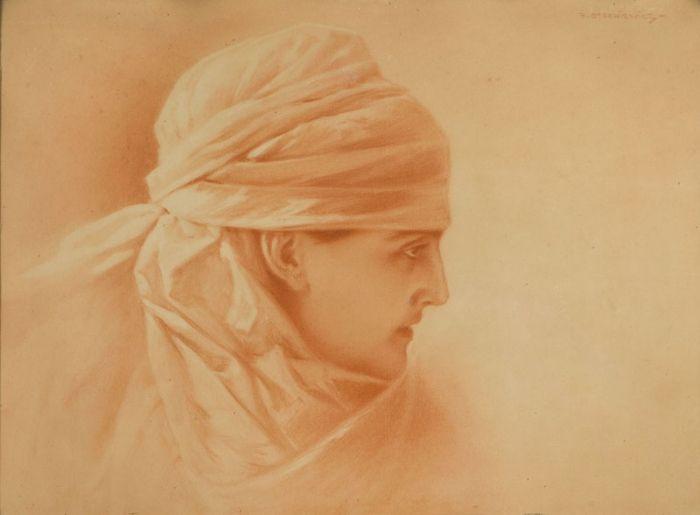 Piotr Stachiewicz - Portret kobiety