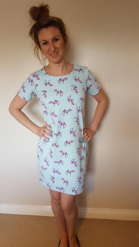 Unicorn t-shirt/tunic dress.