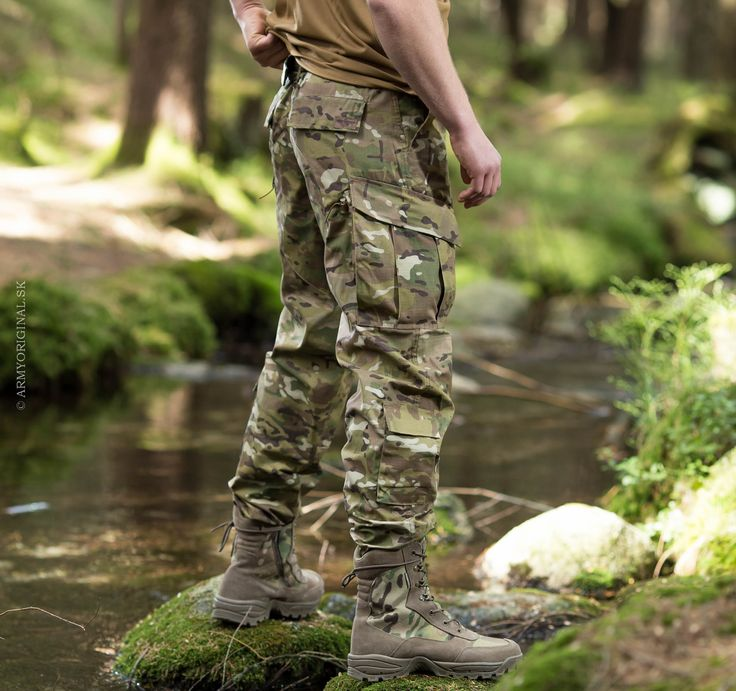 "TDU revenger pants in ""multicam"""