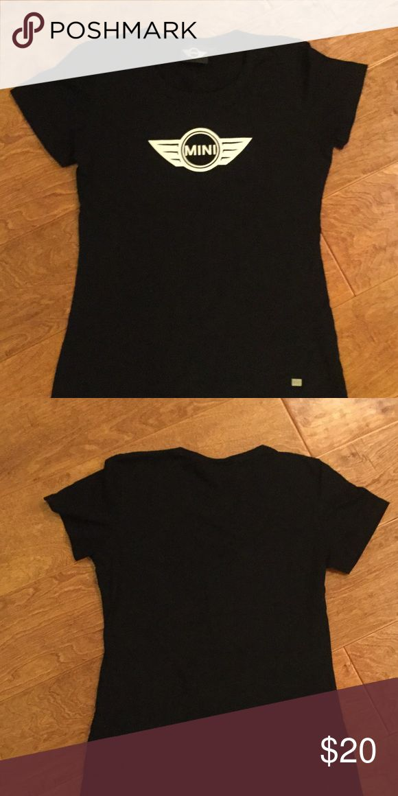 Mini Cooper top Never worn - Mini Cooper lady top- I own a Mini Cooper car and bought this at the dealership .. Never worn it .. Super cute top.. Size : M Mini Cooper  Tops Tees - Short Sleeve