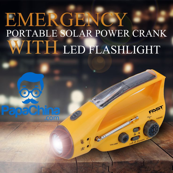 A great amount of awareness of your brand can be achieved among your customer by equipping them with Emergency Portable Solar Power Crank With LED Flashlight which has great features that includes high efficiency and power saving, siren function, range of radio AM 540KHz-1600KHz /FM 88MHz-108MHz, speaker power ≥100 mW, 40mAh solar battery, LED flashlight, charge cable, USB plug, multipurpose USB adapter and your customers can use it as emergency use, listening to music.