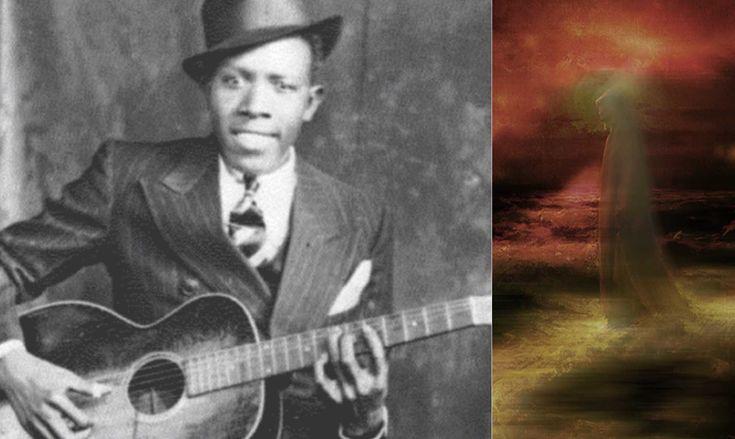 El guitarrista que vendió su alma al diablo.