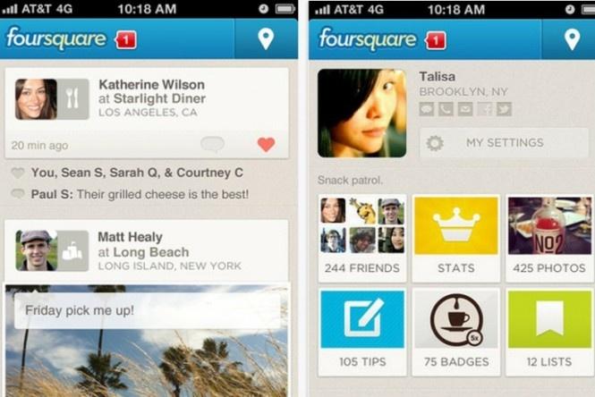 Foursquare reforma aplicativo com foco no social