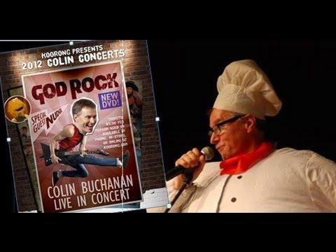 Colin Buchanan Super Chef God Rock Concert 2012. Colin's annual concerts at Covenant Christian School on Sydney's Northern Beaches are very popular.