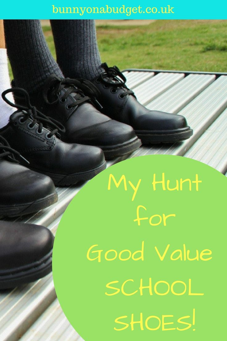 My Hunt for Good Value School Shoes - Finding kids school shoes that are good quality and the right price can be tough! In this blog post I share my experience of buying school shoes for my two young boys, showing you which ones were good value and which weren't from both supermarket and top name expensive brands.