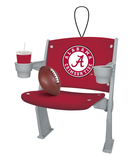 Alabama Crimson Tide Stadium Chair Ornament