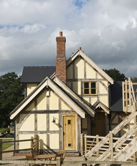Superb Gable elevations with traditional infill panel system
