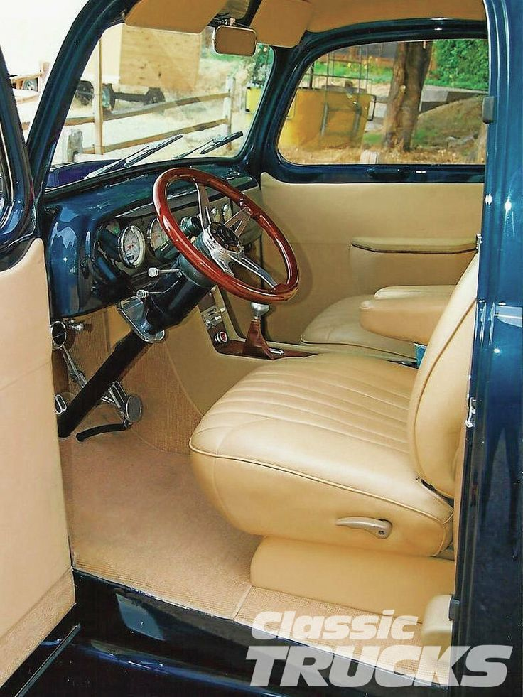 1948 Ford Truck Interior 1950 Ford F1 Interior Classic Truck Hot Rodz