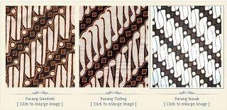 Makna Filosofi dan cerita di Balik Berbagai Motif Batik   seri Parang   Tentang Batik   Museum Batik