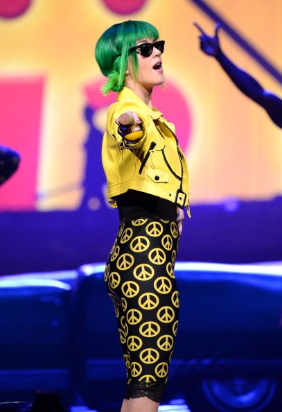 Katy Perry performs onstage during 'The Prismatic World Tour' at PNC Arena on June 22, 2014 in Raleigh, North Carolina