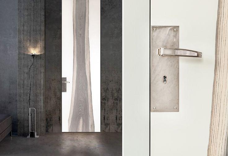 door knob doors handle interior design unique Nowa kolekcja drzwi - na miarę wymagań współczesności - Architektura, wnętrza, technologia, design - HomeSquare
