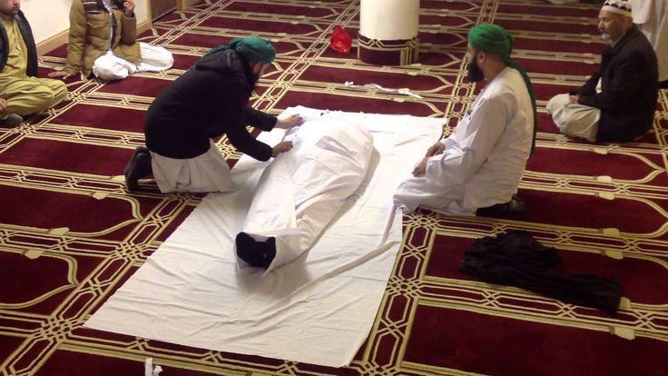 How to shroud a dead body, dawat-E-Islami