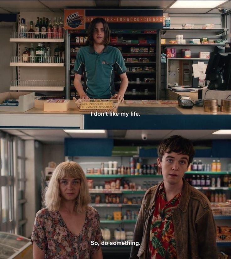 TEOTFW - The End Of The Fing World - Netflix Tv Show 2018 #quotes #inspiration