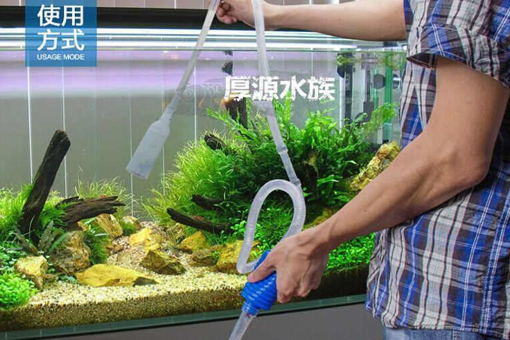 Free shipping Aquarium Water Changer washing sand traps siphon suction device aquarium pump filter change will be cleaner suctio