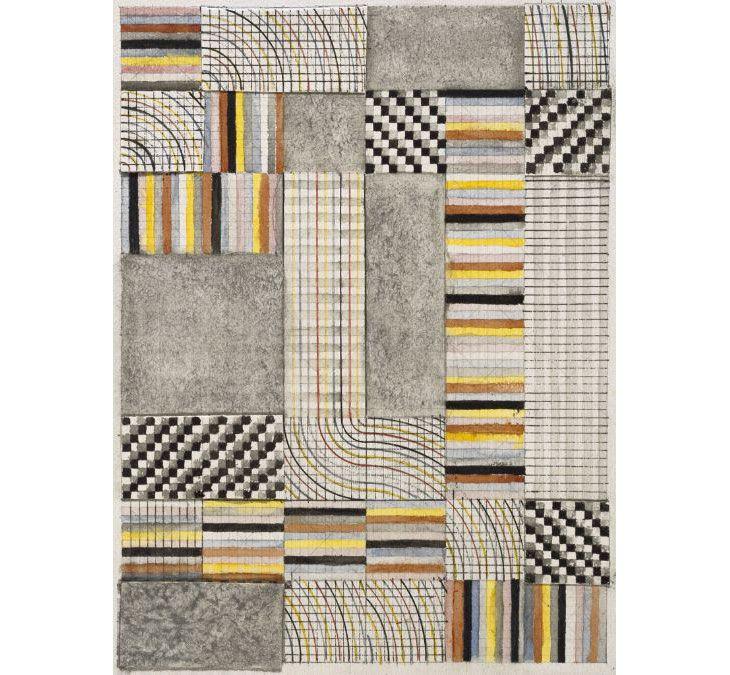 Tasarımı Anni Albers'e ait halı.