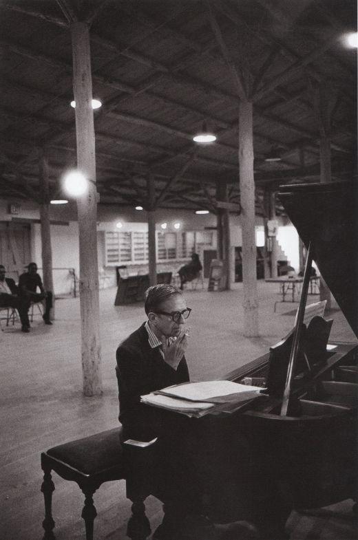 Arranger and Composer Gil Evans at the Monterey Jazz Festival in 1966