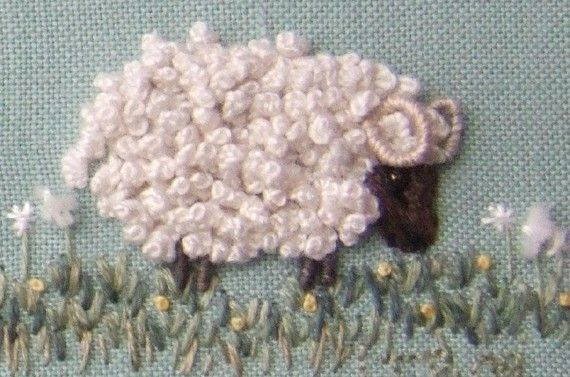 Counting sheep pattern and print kit pictures of