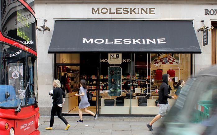 Moleskine Store - Regent Street, Londres