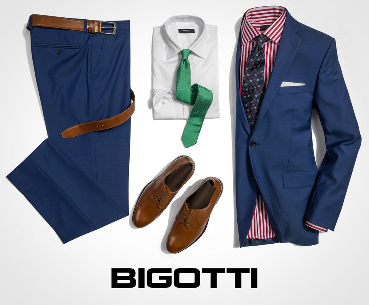 The #blue #suit – #everyday and #formal #outfits Up to 50% OFF on www.bigotti.ro and in #Bigotti #men #clothing #stores
