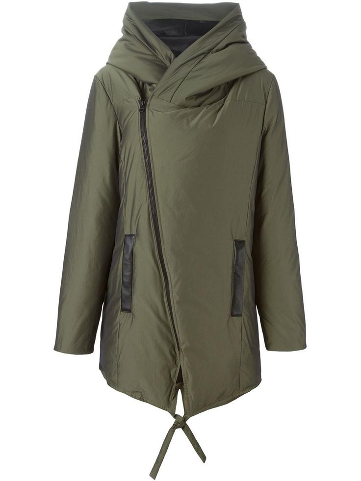 Winter Shopping: The Puffer Jackets Our Editors Are Buying for Winter 2015 - Unconditional Off-Centre Zip Padded Coat, $626; at Farfetch