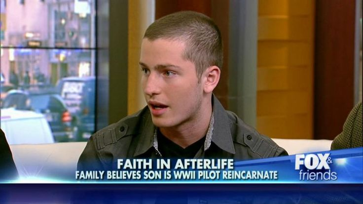 James Huston Jr. believes he is  the reincarnation of a World War II pilot