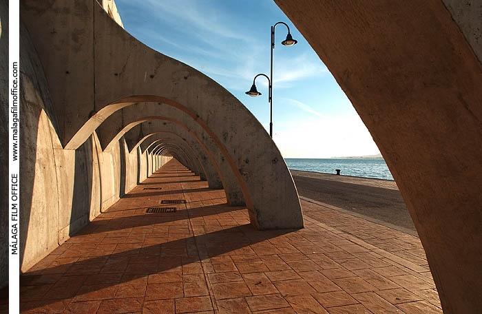 Harbour in Malaga (c) James Souza