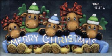 Merry Christmas Moose