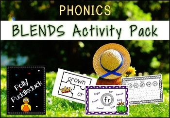 Resource Title Phonics Blends Activity Pack Age/Year Group Early Years and Key Stage 1 Total Pages in download ❤ 52 File Type PDF Resource Content ❂ Beginning Blends Activities ❂ Over 20 Blends Posters ❂ One set of Blends jigsaw puzzles FREE NOW WITH VOUCHER