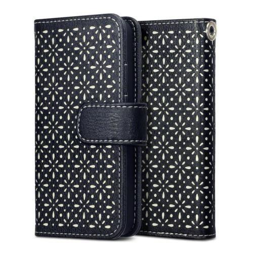 Köp Terrapin Textured Floral Fodral Apple iPhone 5/5S/SE svart online: http://www.phonelife.se/terrapin-textured-floral-fodral-apple-iphone-5-5s-se-svart