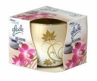 Glade Relaxing Zen Scented Candle 120g Fragranced candle in glass. Lasts up to 30 hours.