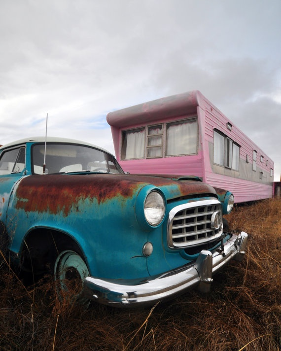 Nash Metropolitan And PInk Trailer By Philbisesi On Etsy 2000