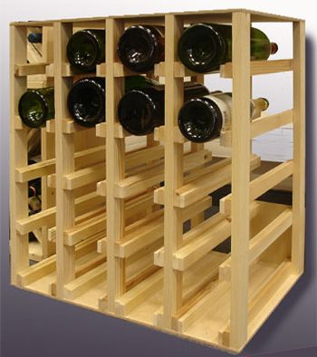 17 best ideas about casier bouteille bois on pinterest for Rangement bouteilles vin