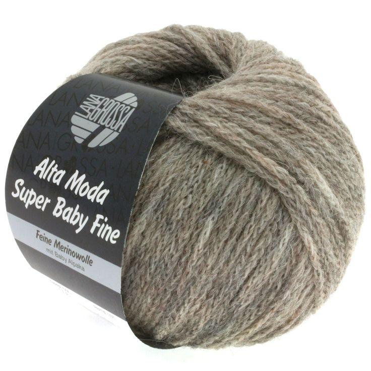 ALTA MODA SUPER BABY FINE uni 06-gray / beige mix