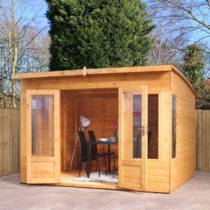 #diy 10X8 Combi Garden Room Shiplap Timber Summerhouse: 10X8 Combi Garden Room Shiplap Timber Summerhouse.Having a bit of extra space is…