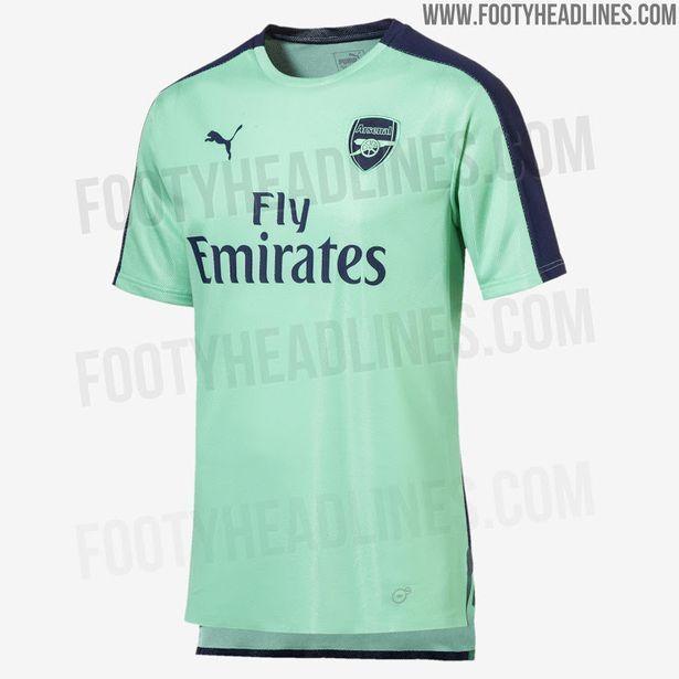wholesale dealer b902d d7ef0 New Arsenal third kit 'leaked' - and it's a very unusual ...