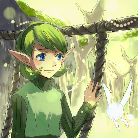 Hey, don't worry Saria I'll return after I deliver the kokiri's emerald.
