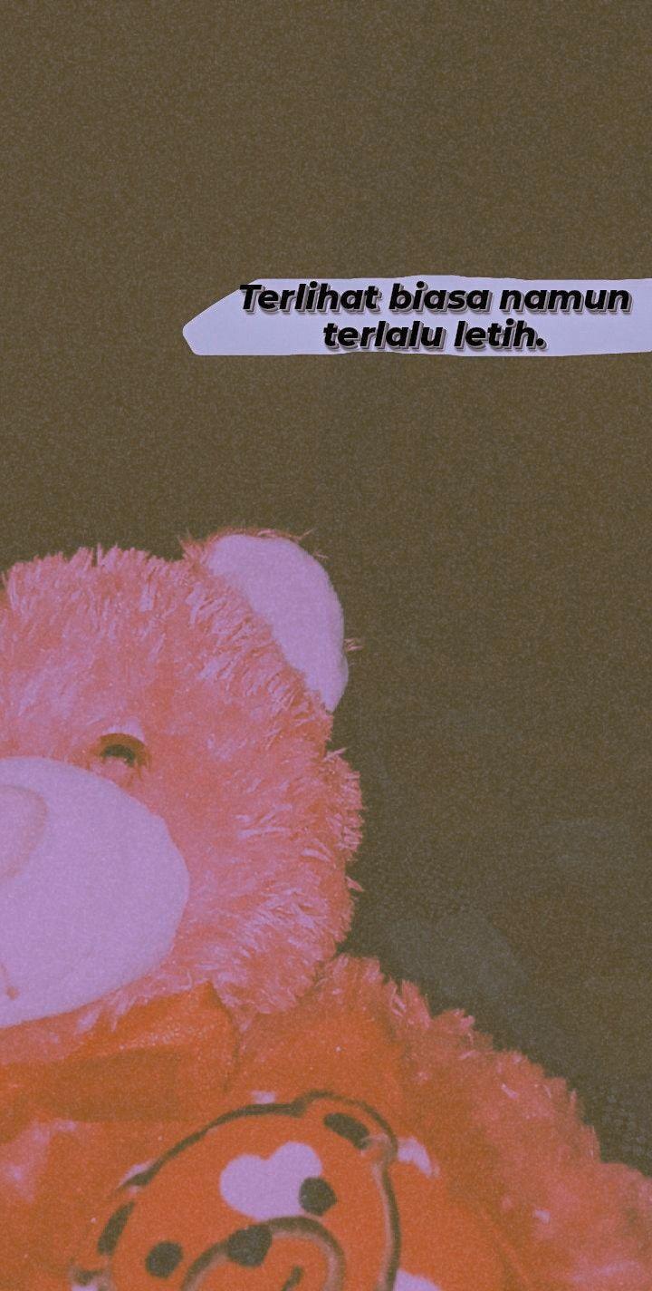 Aesthetic Boneka Beruang Gajelas Gambar Boneka Kata Kata Indah