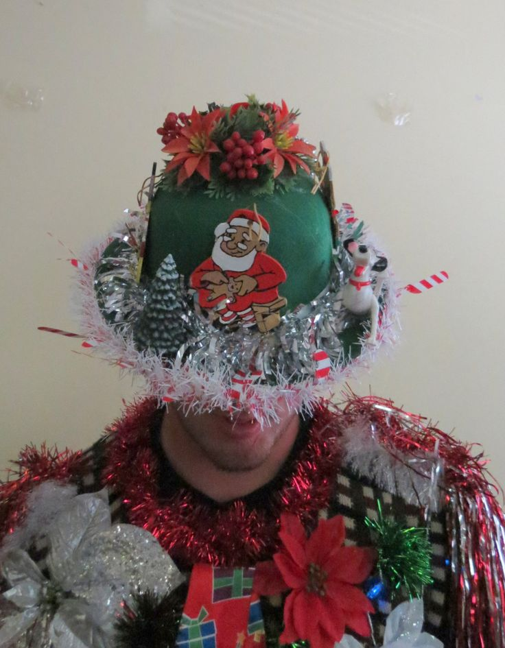 How to decorate your christmas hat billingsblessingbags