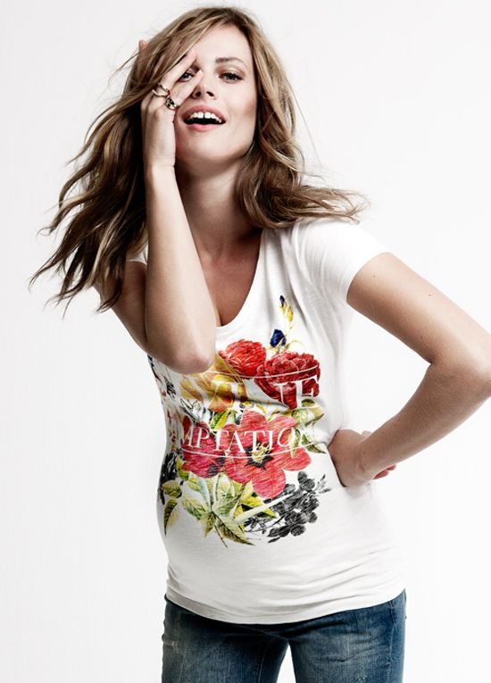 Queen Bee Ivane Floral Maternity T-Shirt by Noppies