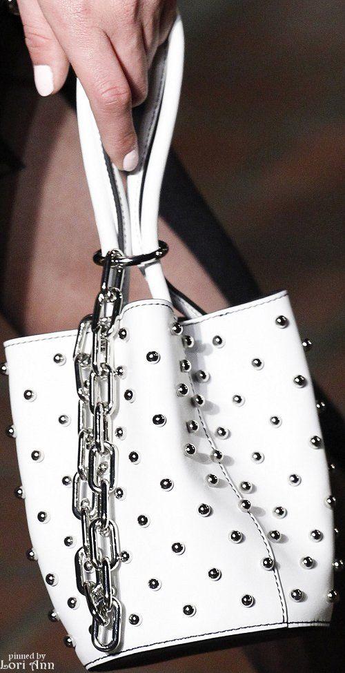 Alexander Wang Fall 2016 RTW Women's Handbags Wallets - http://amzn.to/2huZdIM                                                                                                                                                                                 More