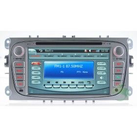 Ford S-max DVD player GPS navigation system with Radio TV Bluetooth-2