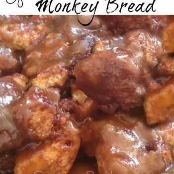 Gooey crockpot monkey bread