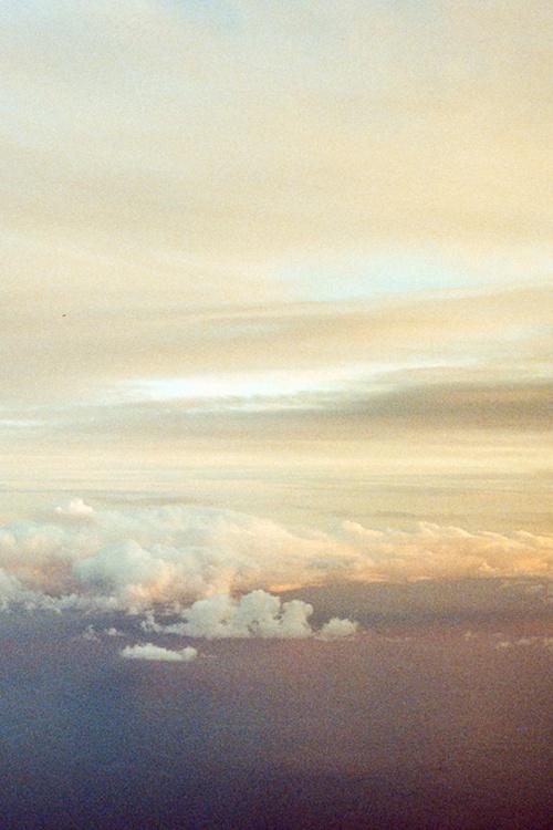 sun, light, clouds