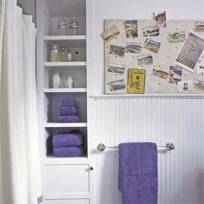 Best Remodeling Ideas For Small Bathroom Images On Pinterest - Lilac bath towels for small bathroom ideas