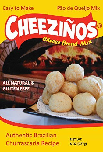 Cheezinos Brazilian Cheese Bread Po de Queijo Mix for Blender 1 Box -- Read more  at the image link.