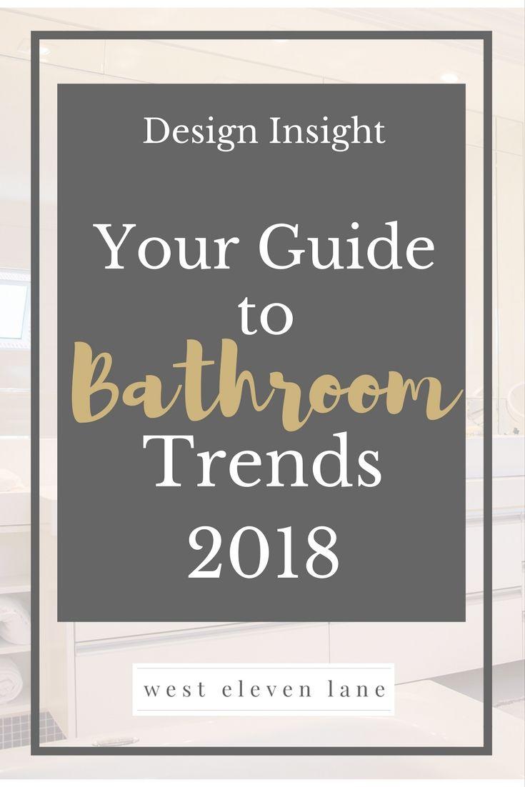 Bathroom Design Trends 2018 #bathroomdesign #bathroomideas #trends