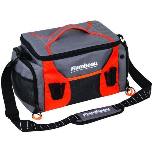 Flambeau Medium Tackle Duffel Bag Orange Bright - Fishing Equipment, Soft Tackle Bags at Academy Sports