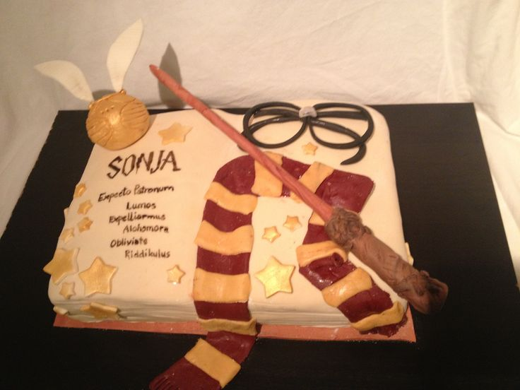 Harry Pottercake for Sonja
